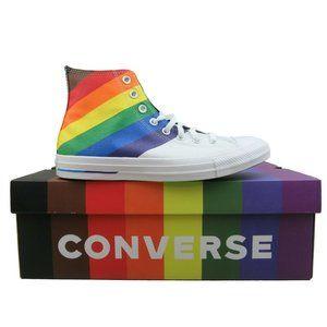 Converse Chuck Taylor HI Top Pride Rainbow Sneaker